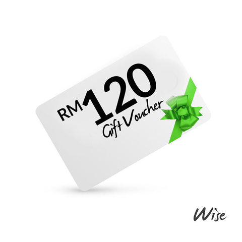 Wise Gift Voucher RM120