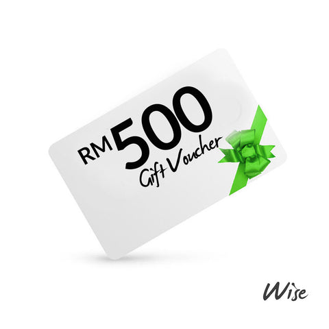 Wise Gift Voucher RM500