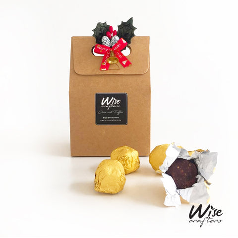 Healthy Choco-Oat Truffles (4 pcs) - Christmas Gift Idea