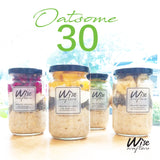 Oatsome 30 Meal Plan (oatmeal only)