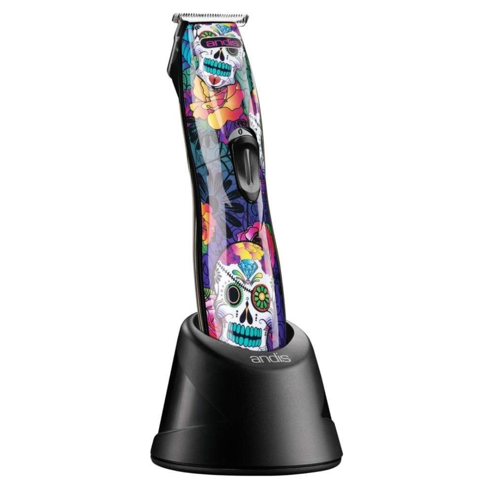 Charli and Kate Electricals Andis SlimLine Ion Cordless Trimmer- Sugar Skull Design
