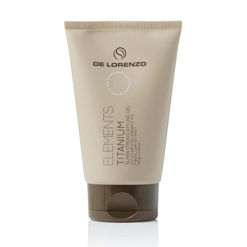 De Lorenzo Styling De Lorenzo Elements Titanium Styling Gel 100G