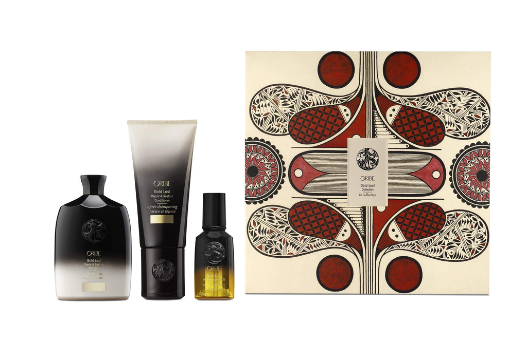 Oribe Haircare Packs Oribe Gold Lust Collection Gift Set