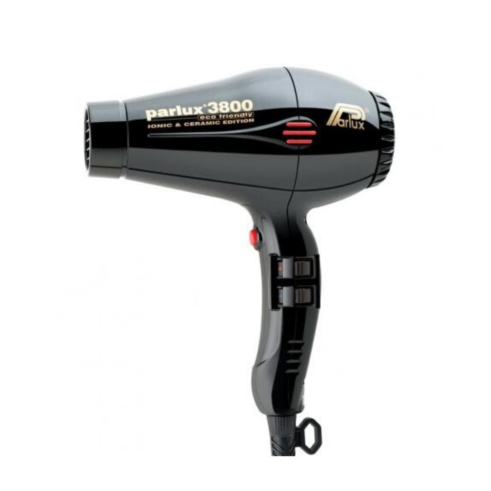 Parlux Electricals PARLUX 3800 ECO FRIENDLY CERAMIC AND IONIC HAIR DRYER- Black