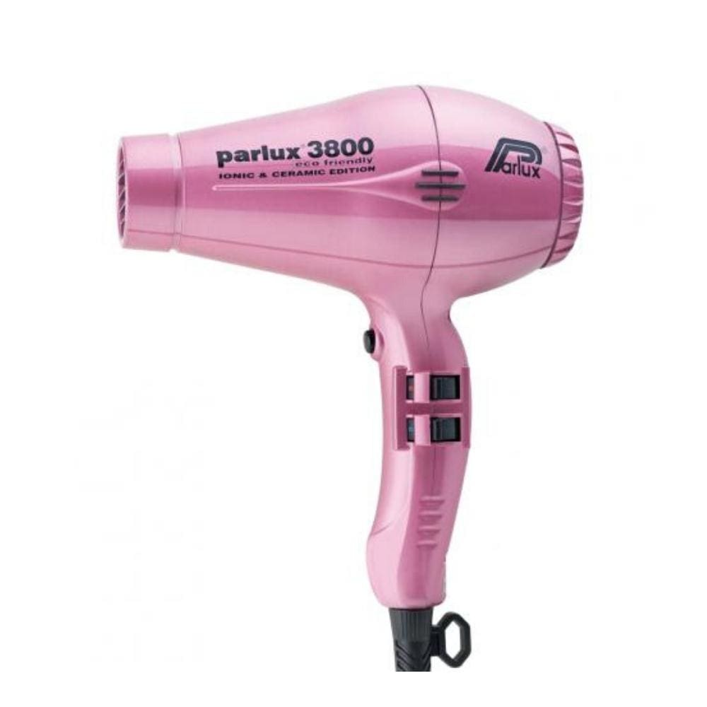 Parlux Electricals PARLUX 3800 ECO FRIENDLY CERAMIC AND IONIC HAIR DRYER- Pink