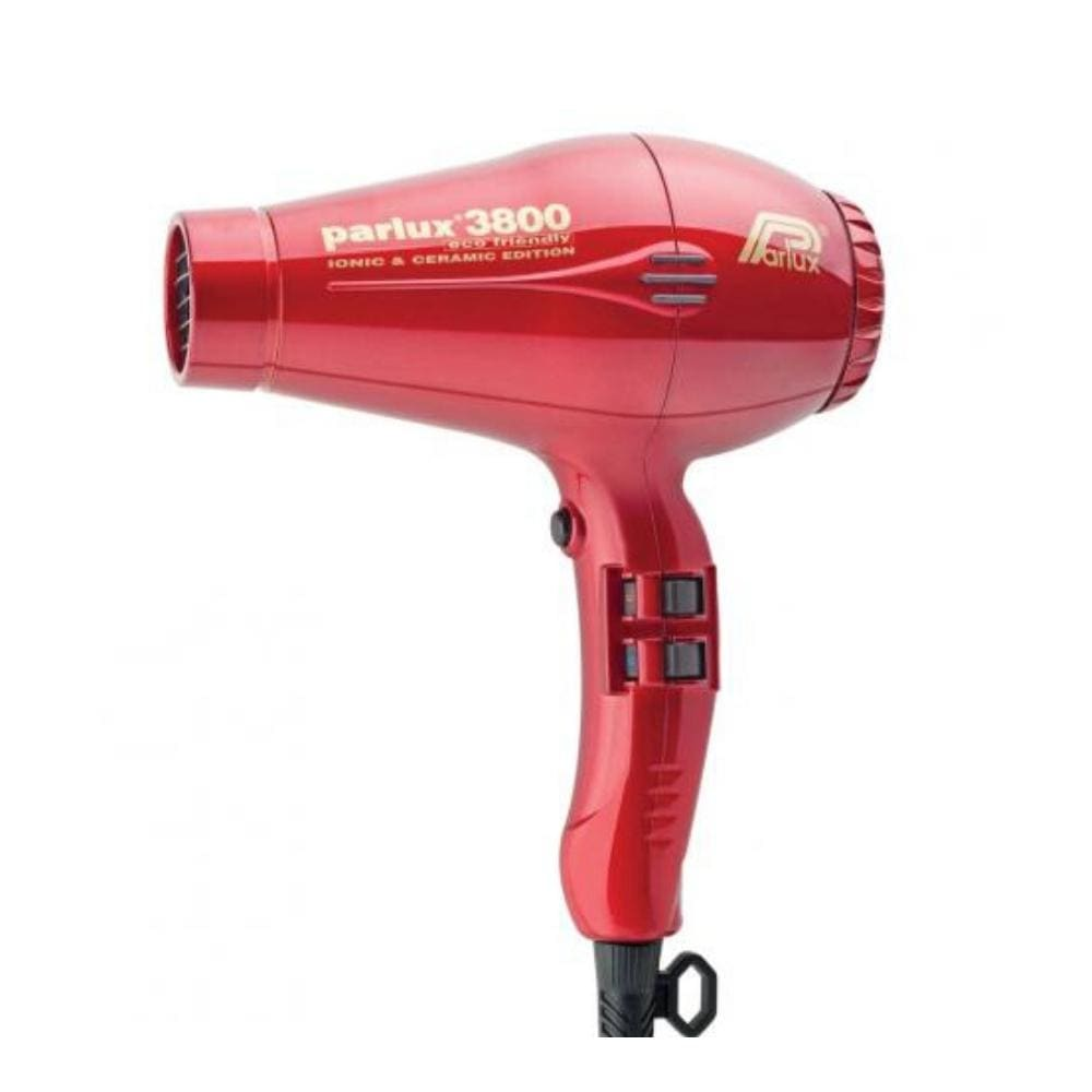 Parlux Electricals PARLUX 3800 ECO FRIENDLY CERAMIC AND IONIC HAIR DRYER- Red