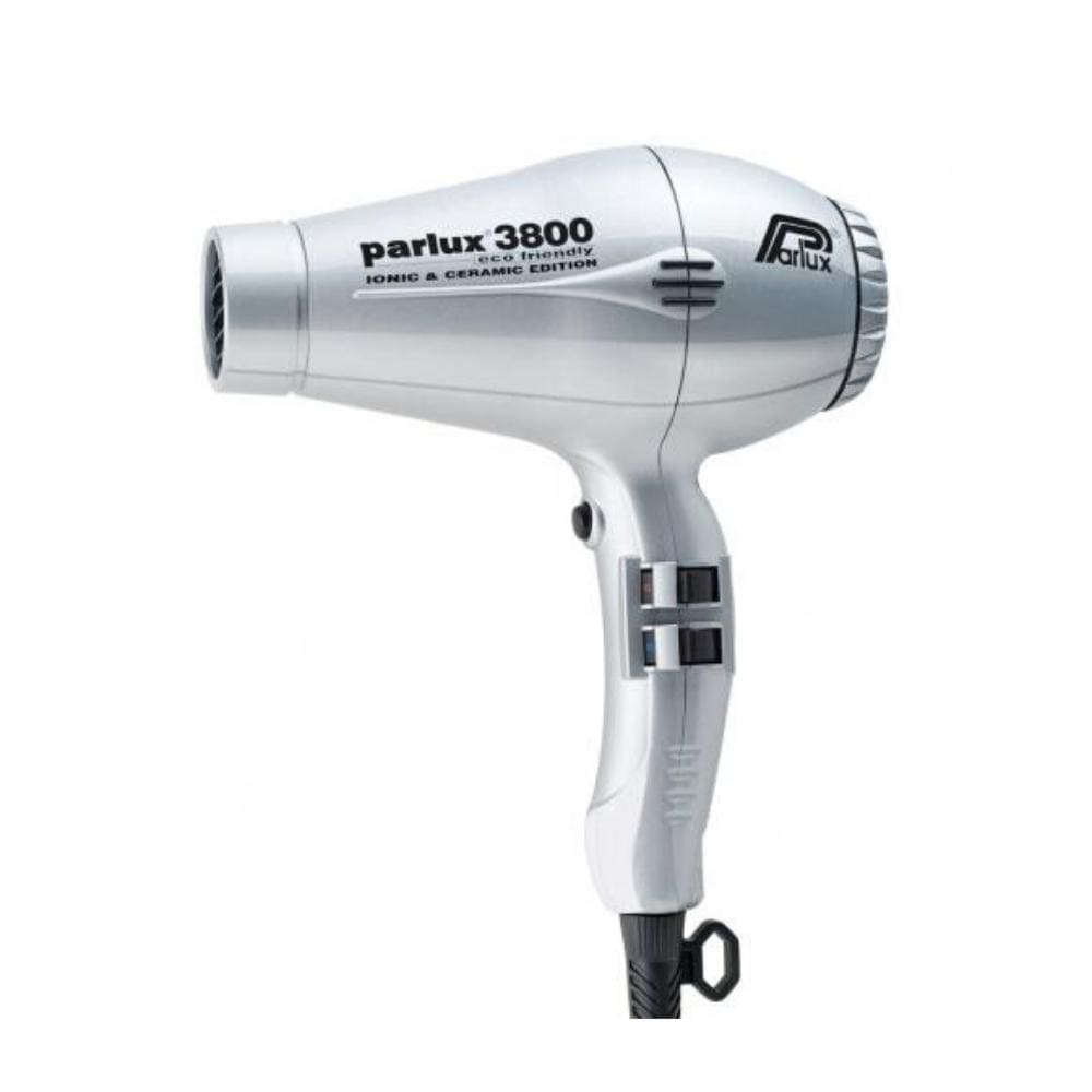 Parlux Electricals PARLUX 3800 ECO FRIENDLY CERAMIC AND IONIC HAIR DRYER- Silver