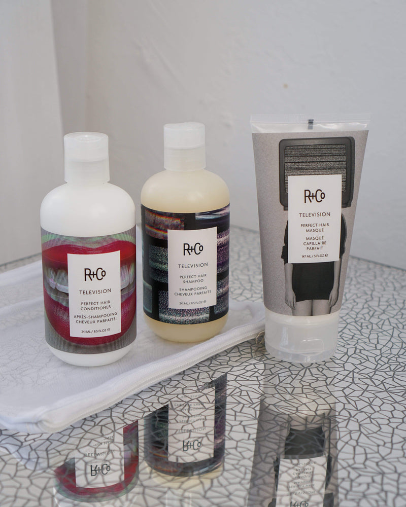 R+Co Haircare Packs R +CO TELEVISION PERFECT HAIR SET