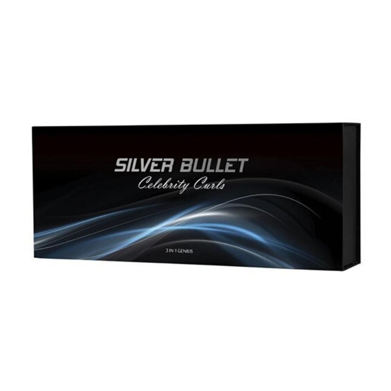 Silver Bullet Electricals Silver Bullet Celebrity Curls 3 In 1 Genius Curling Iron