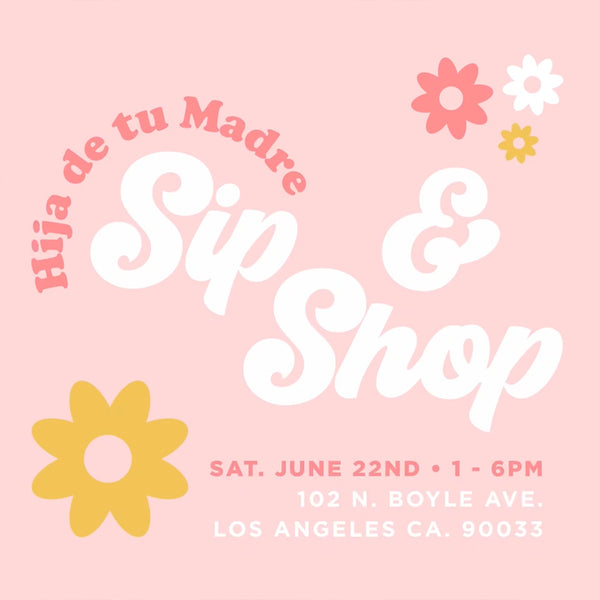Sip & Shop Pop-Up This Saturday!