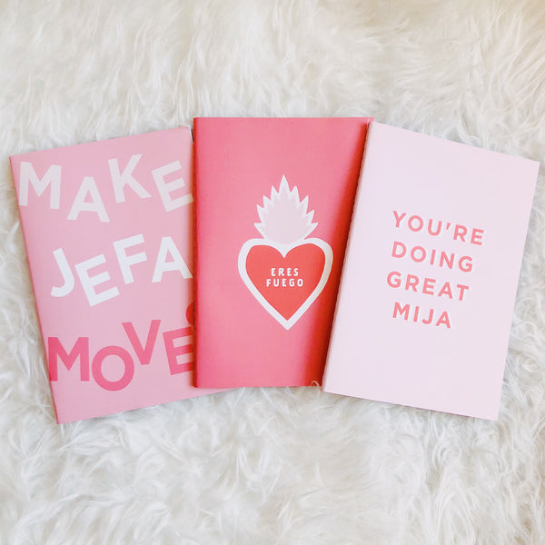 Make Jefa Moves Notebook Set
