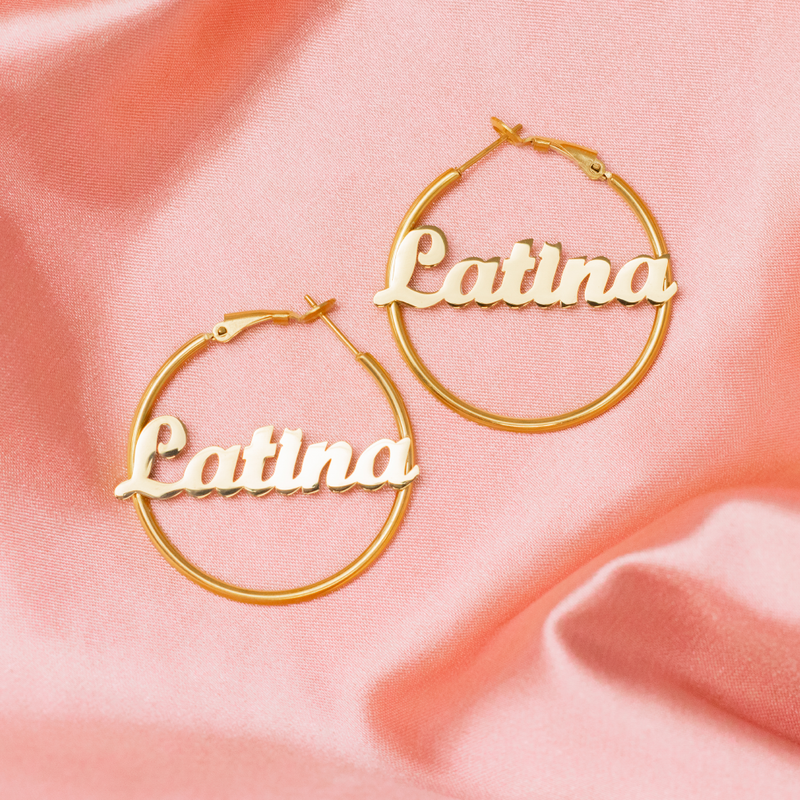 Latina Mini Hoops