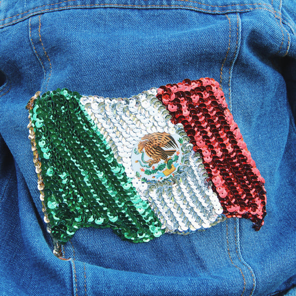 Mexican Bandera Kids Jacket
