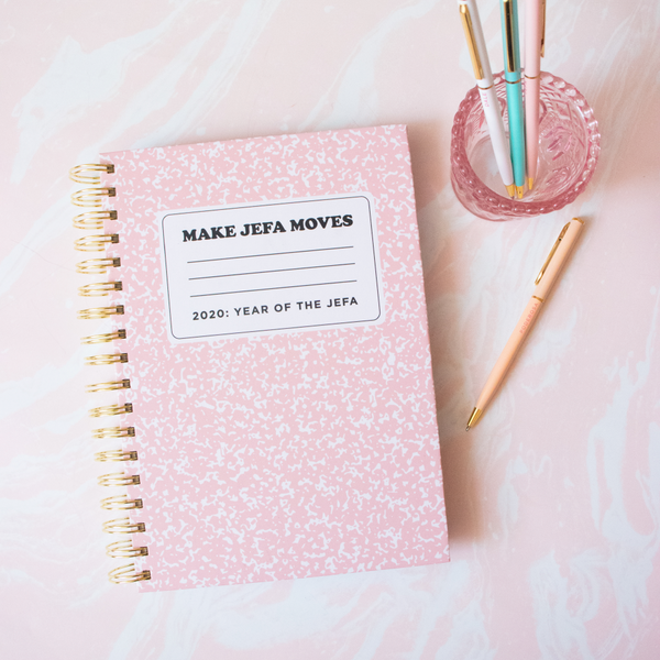 Make Jefa Moves 2020 Weekly Planner