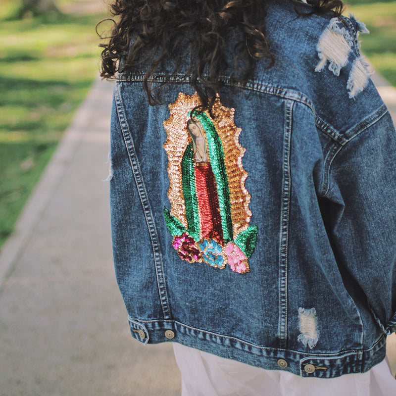 Virgencita Trucker Jacket