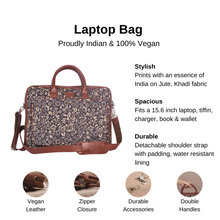 Load image into Gallery viewer, FloMotif Laptop Bag