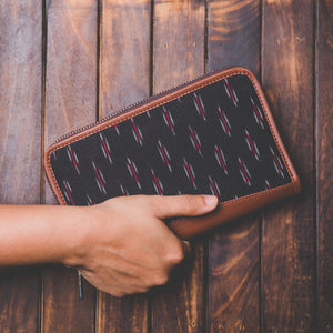 IKat GreRed Chain Wallet