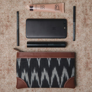 Ikat Wave Multipurpose Pouch