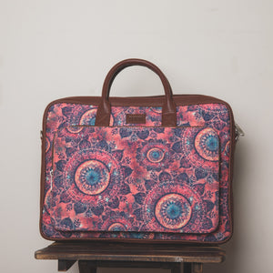 laptop bags for women - spacechakra - front