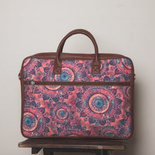 Load image into Gallery viewer, SpaceChakra Combo - Laptop Bag & Chain Wallet