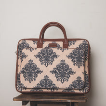 Load image into Gallery viewer, Mughal Motif Laptop Bag - Front