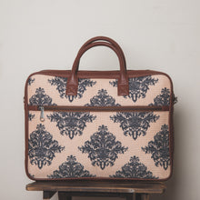 Load image into Gallery viewer, Mughal Motif Laptop Bag - Back
