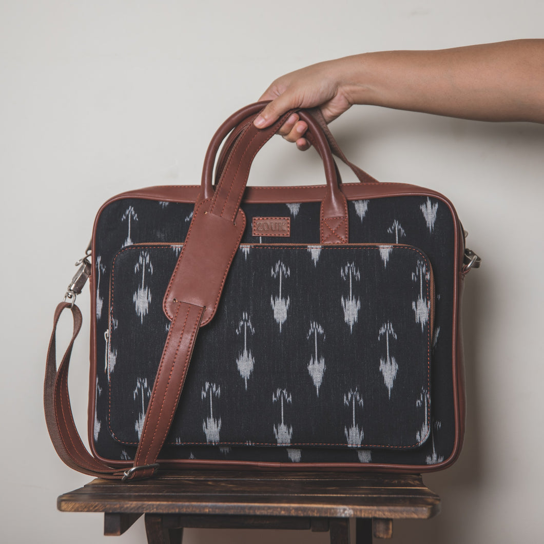 Ikat Arrow Laptop Bag