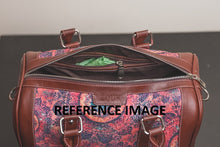 Load image into Gallery viewer, Multi Crystal Print Handbag