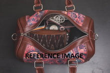 Load image into Gallery viewer, Ikat BlckMesh Handbag
