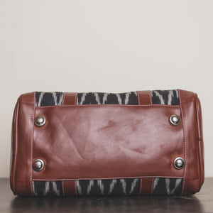 Ikat Wave Handbag