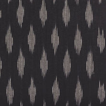 Load image into Gallery viewer, Unisex Pocket Wallet - Ikat Striped Black