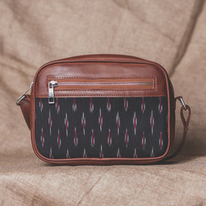 Zouk Ikat GreRed Sling Bag