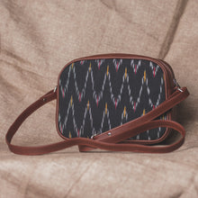 Load image into Gallery viewer, Ikat African Wave Sling Bag