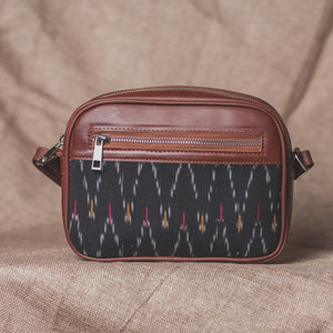 Ikat African Wave Sling Bag