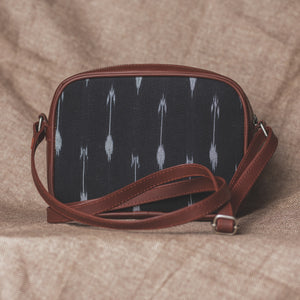 Zouk Ikat Arrow Sling Bag
