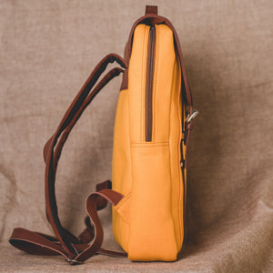 Zouk Sunshine Yellow Backpack