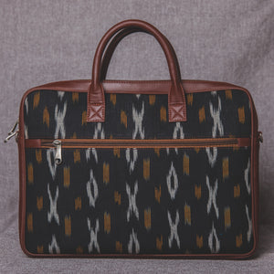 Ikat CliYel Laptop Bag - back