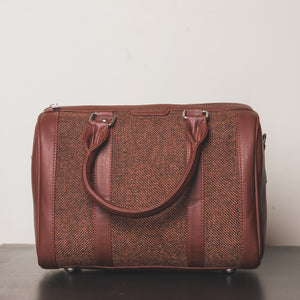 Brown Metal Handbag