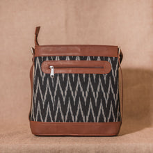 Load image into Gallery viewer, Ikat Wave Bucket Sling Bag