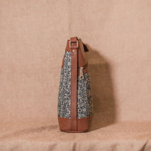 Lattice Lace Bucket Sling Bag