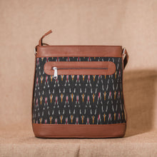 Load image into Gallery viewer, Ikat African Wave Bucket Sling Bag