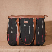 Load image into Gallery viewer, Ikat RedWhite Arrow Women's Office Bag