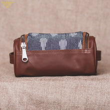 Travel Kit - Ikat Striped Grey(Top)