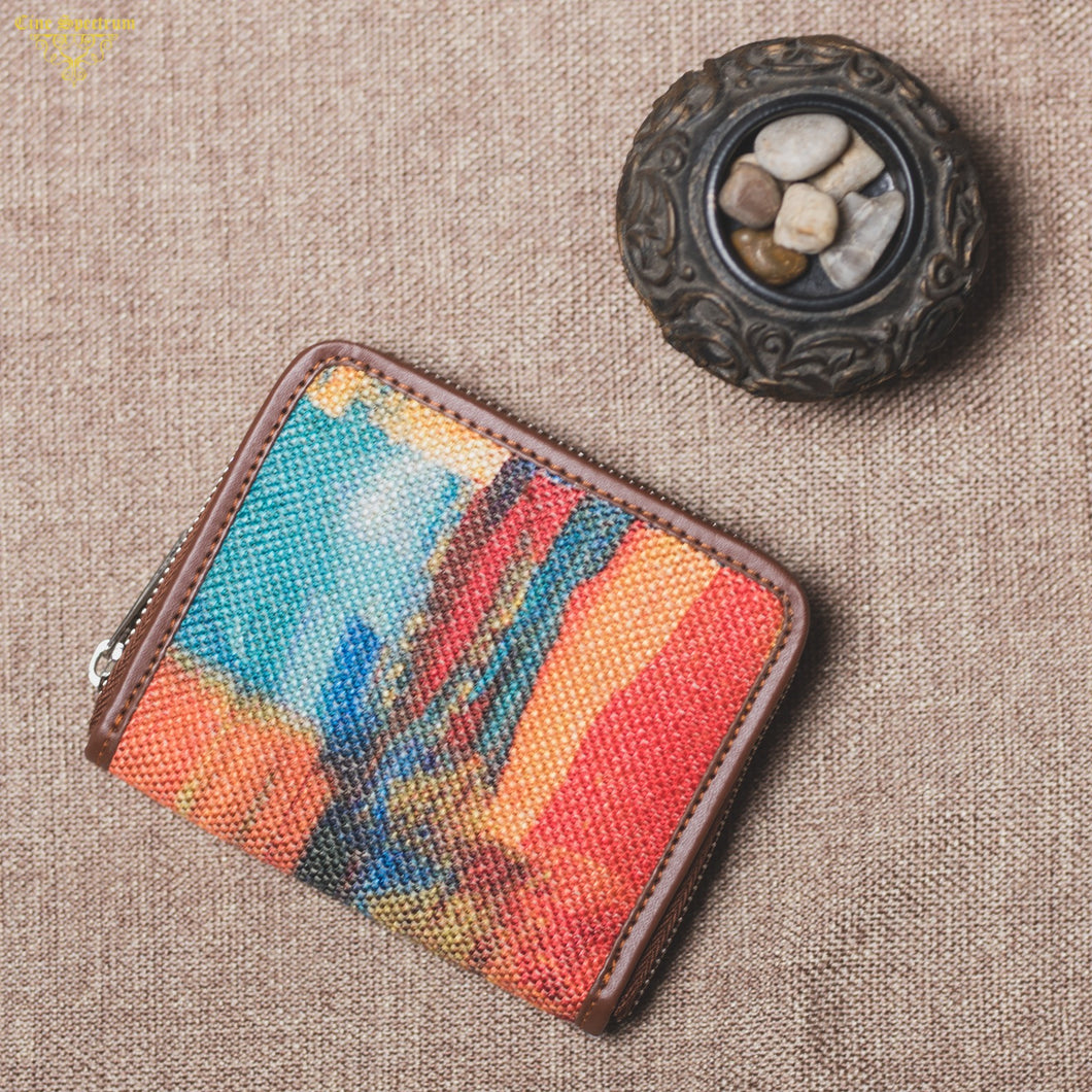 Abstract Amaze Women's Mini Wallet