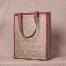 Load image into Gallery viewer, Beige Petal Motif - Tote Bag
