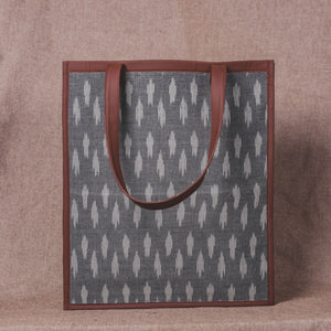 Ikat Striped Grey - Tote Bag