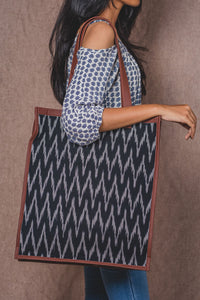Ikat Wave - Tote Bag