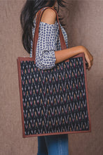 Load image into Gallery viewer, Ikat African Wave - Tote Bag