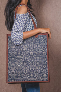 Lattice Lace - Tote Bag