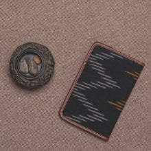 Load image into Gallery viewer, Passport Holder - Ikat Brown Wave